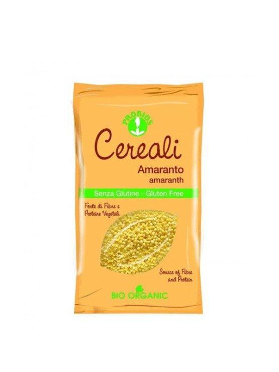 Probios gluten free amaranth in a 400g packaging