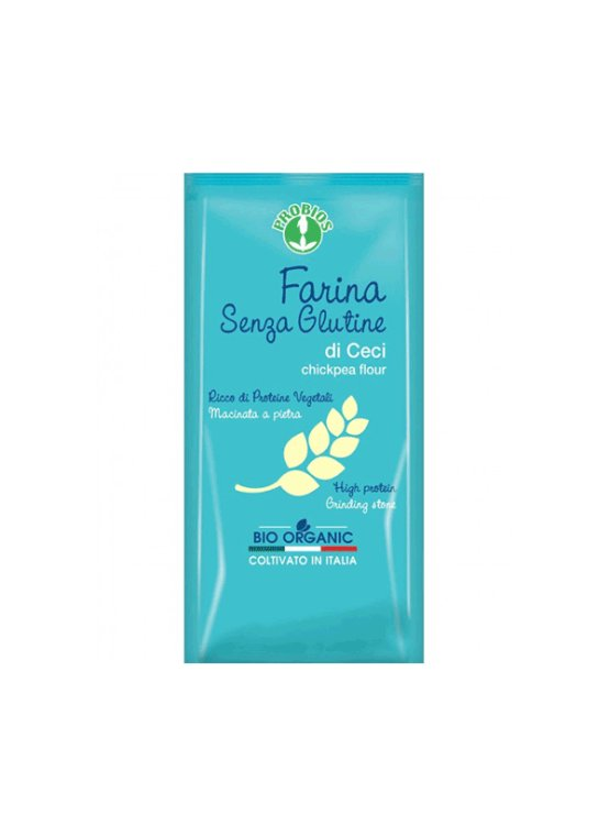 Probios gluten free chickpea flour in a 375g packaging