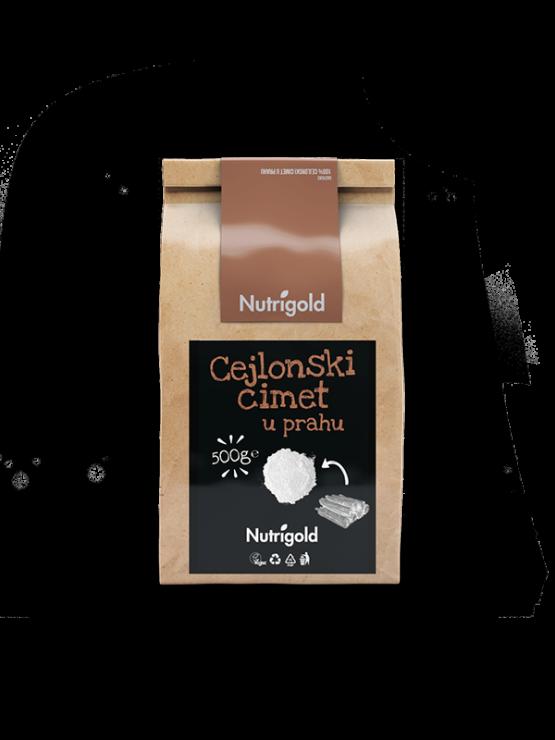 Nutrigold Ceylon cinnamon in a packaging of 500g