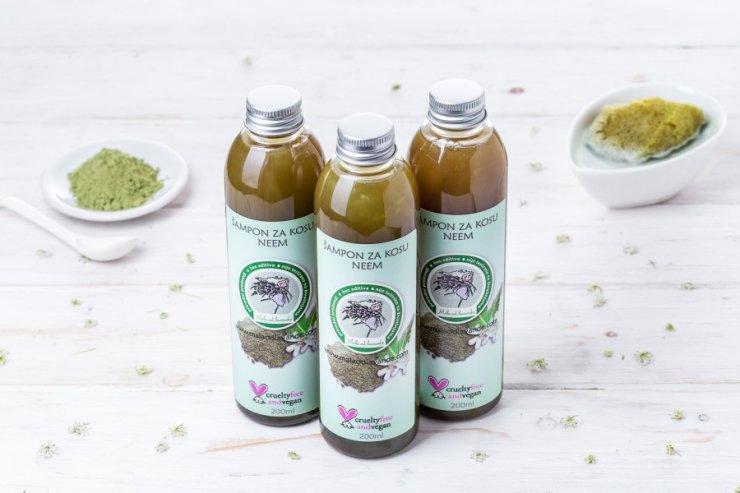 Mala od lavande neem hair shampoo in a packaging of 200ml