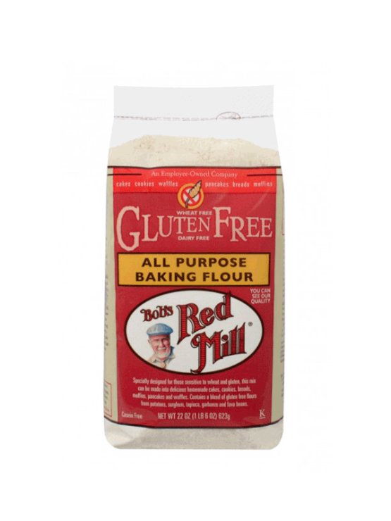 Bob's Red Mill gluten free all purpose flour in a packaging of 600g