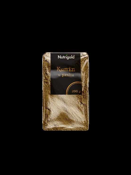 Nutrigold cumin powder in a packaging of 200g