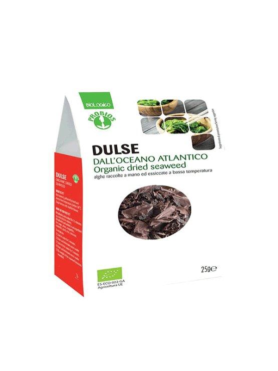 Probios dulse seaweed from organic agriculture in a packaging of 25g