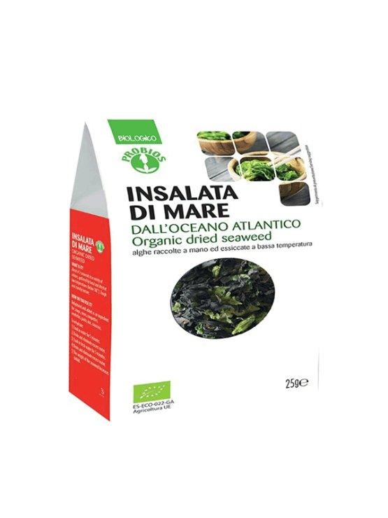 Probios organic dried seaweed salad in a packaging of 25g