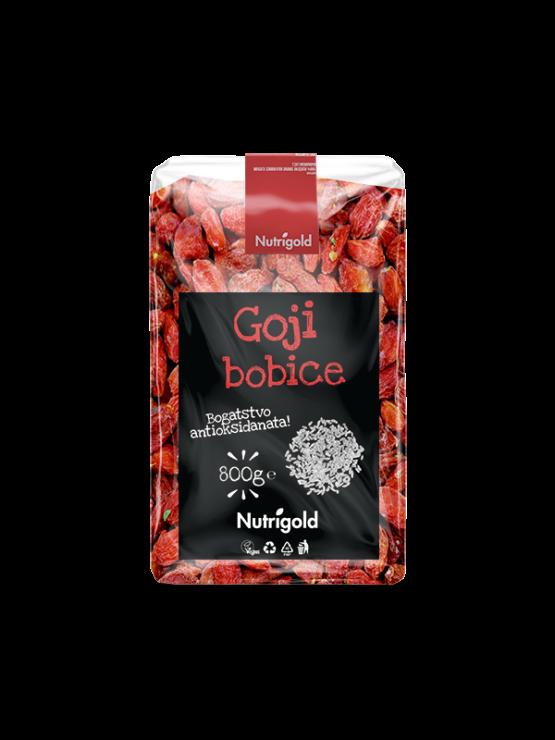 Nutrigold goji berries in a packaging of 800g