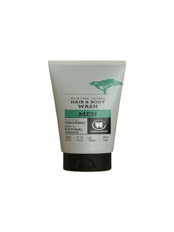 Urtekram hair and body aloe vera and baobab hair & body gel in a 150ml tub