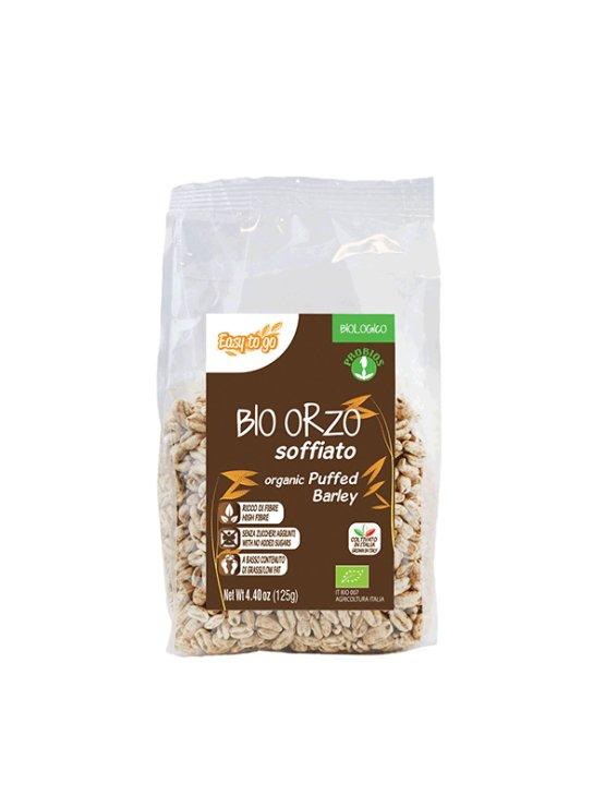Probios organic puffed barley in a packaging of 125g