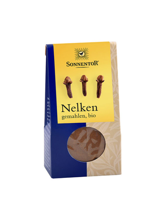 Sonnentor organic ground clove in a packaging of 35g