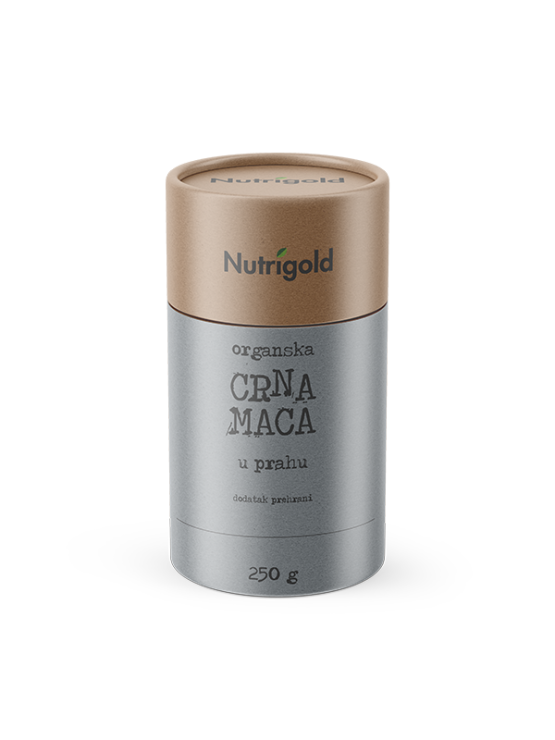 Nutrigold organic maca powder in a packaging of 250g