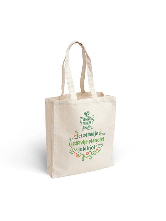 Long Handle Canvas Bag - Healthy Food Factory