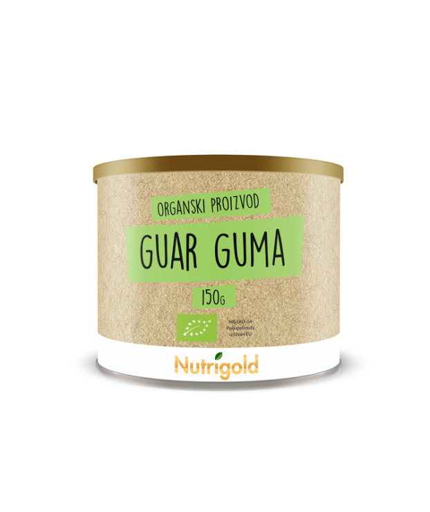 Nutrigold organic guar gum in a packaging of 150g
