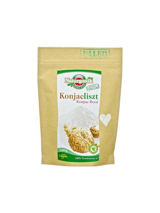 Naturganik Amorphophallus Konjac flour (Glucomannan) in a packaging of 100g