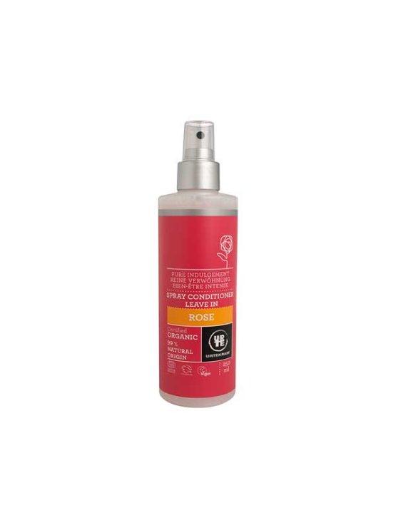 Urtekram rose conditioner in a 250ml spray bottle