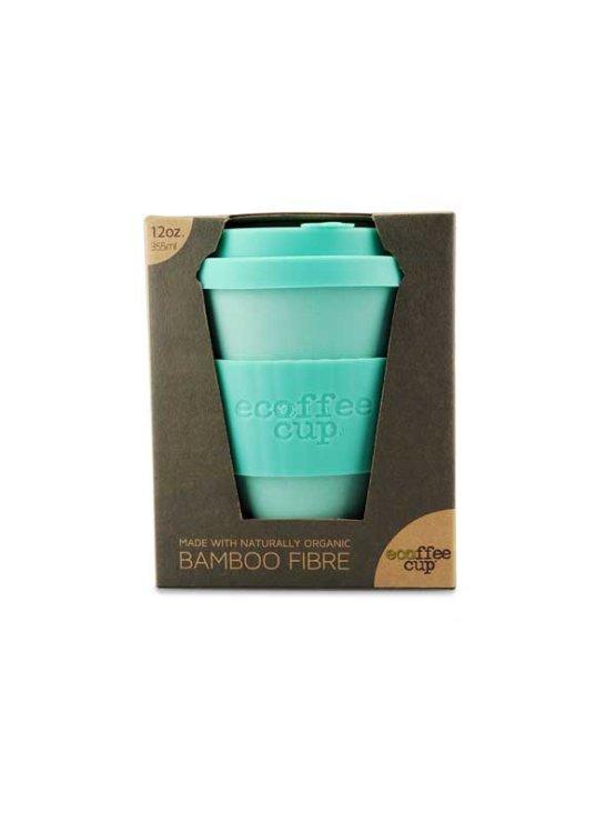 Ecoffee cup bamboo fibre - mint green 355ml