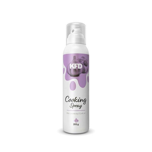 KFD garlic oil cooking spray in a spray can 201g