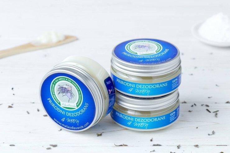 Mala od lavande deo cream for men in a 100g packaging