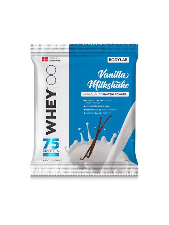 Bodylab whey 100 vanilla milkshake in a packaging of 30g
