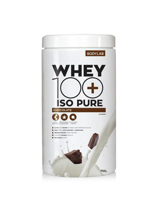 Bodylab ISO pure protein chocolate in a packaging of 750g