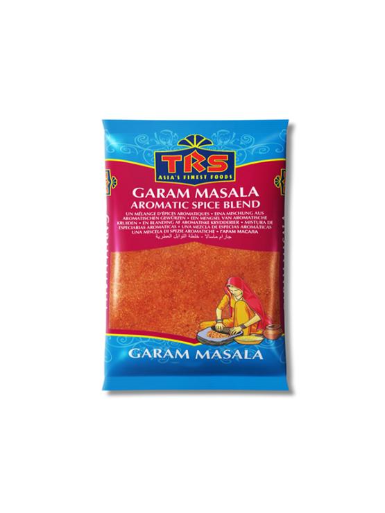 TRS Garam Masala aromatic spice blend in a bag of 100g