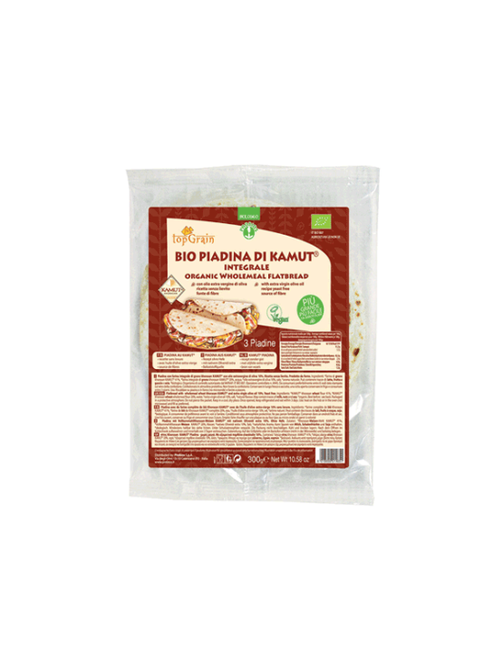 Probios khorasan wheat piadina in a packaging of 300g