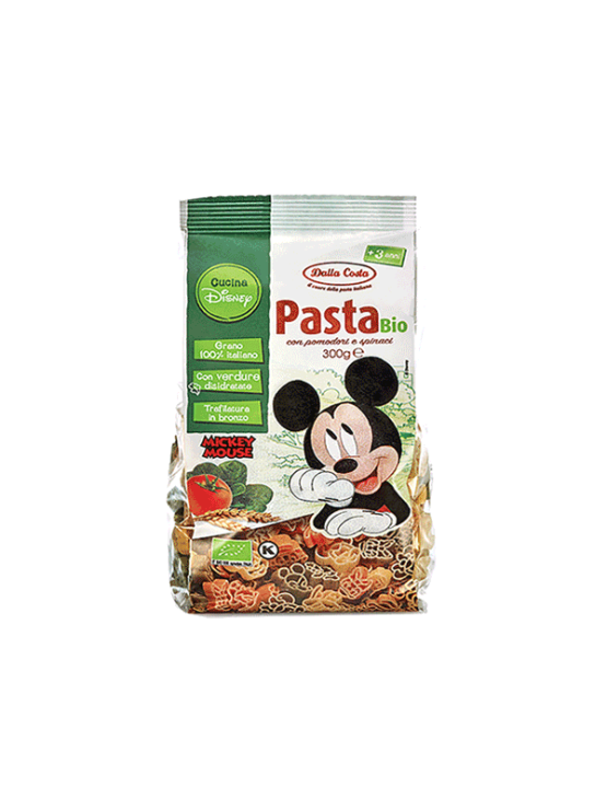 Probios durum wheat Mickey Mouse pasta in a packaging of 300g