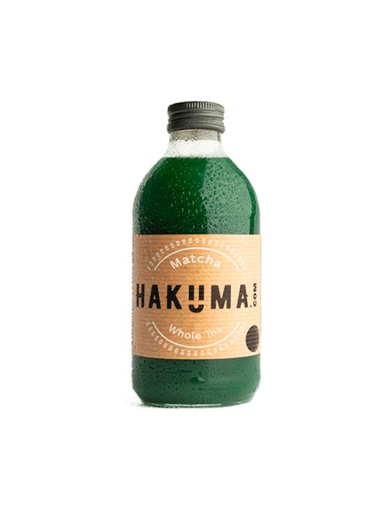 Hakuma bitter matcha tea juice in a glass bottle of 330ml