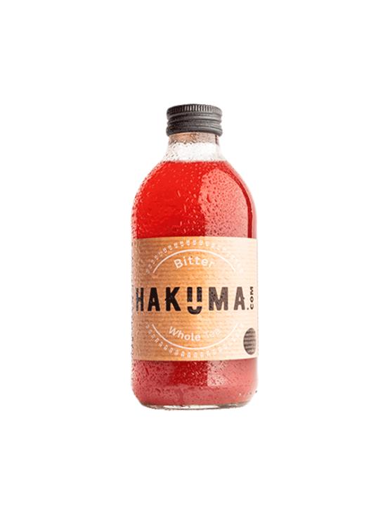 Hakuma bitter jasmine tea juice in a glass bottle of 330ml