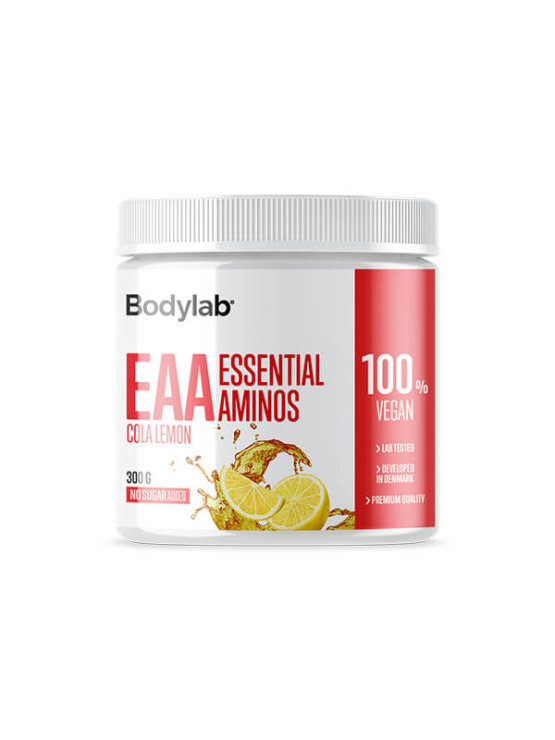 Bodylab EAA amino acids cola lemon in a packaging of 300g