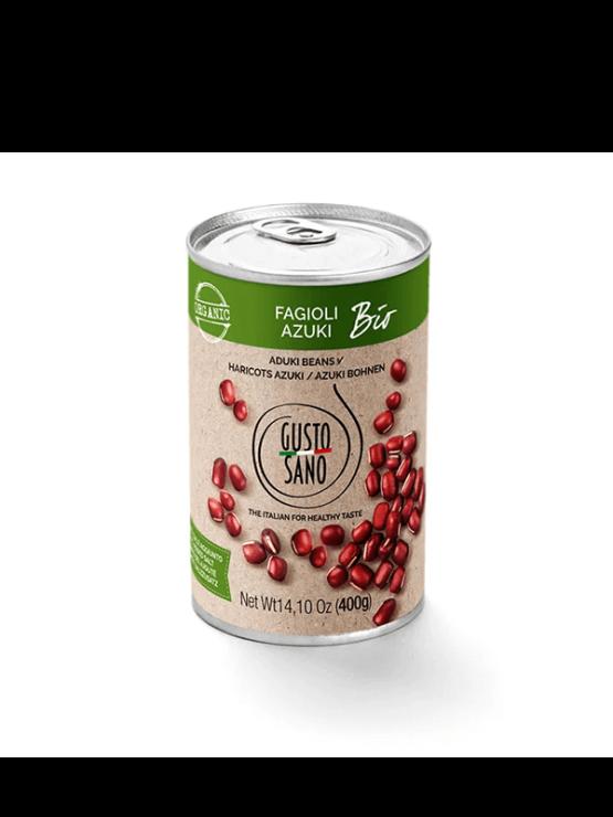 Gusto Sano organic canned adzuki beans 400g