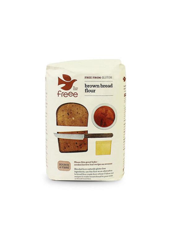 Freee Gluten Free brown bread flour in a packaging of 1kg