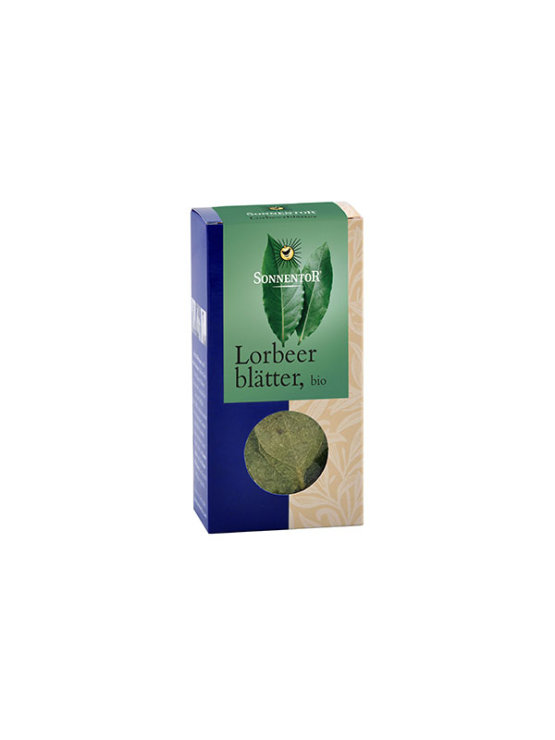 Sonnentor organic bay leaf in a packaging of 10g