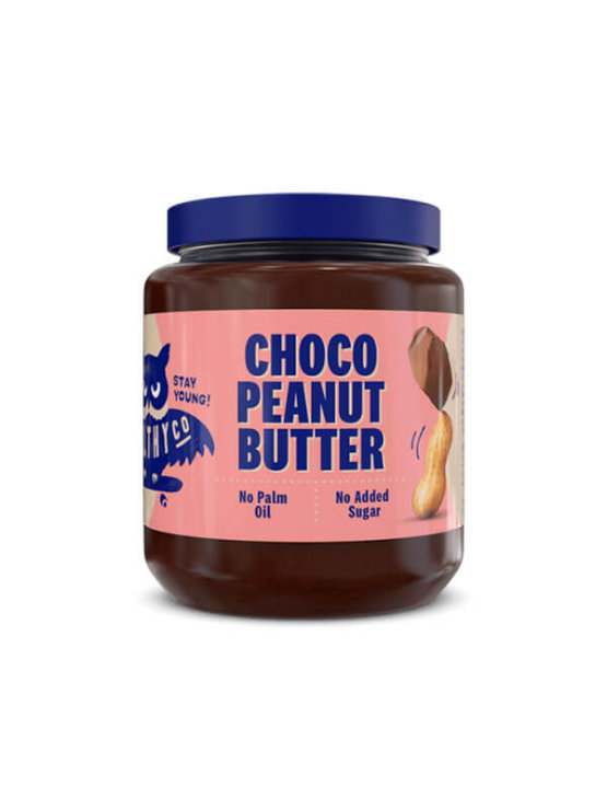 Choco peanut butter HealthyCo in plastic packaging of 320 grams