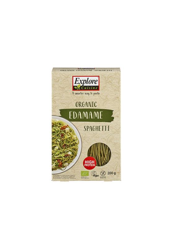 Organic Explore Cuisine edamame spaghetti pasta in a 200g packaging