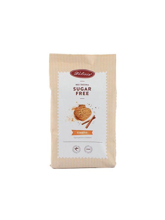 Delicia Cimetix cinnamon sugar free cookies in a 200g packaging