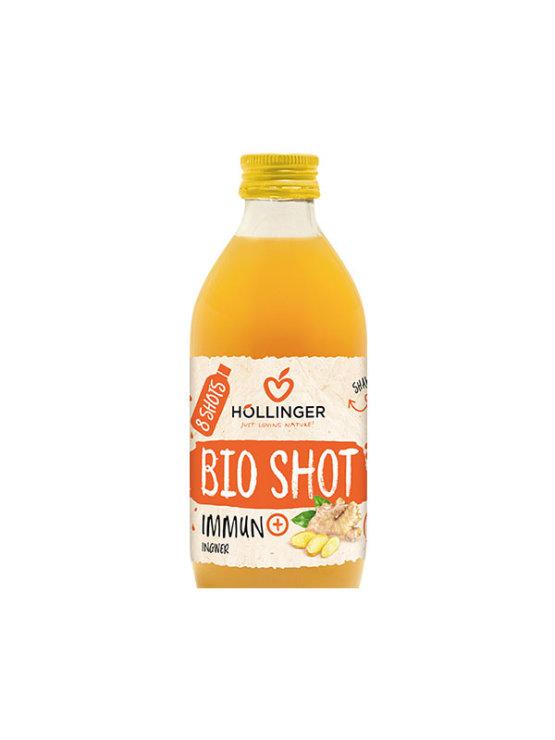 Orgaanic Hollinger Immune+Shot juice in a glass bottle of 330ml