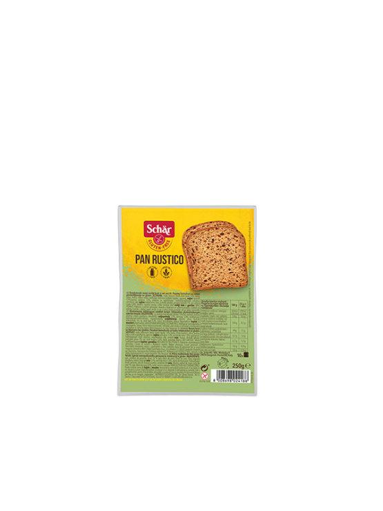 Schar gluten free brown loaf bread in a packaging of 250g