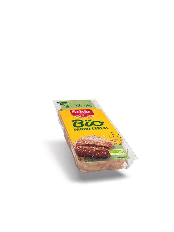 Schar organic gluten free multi grain panini in a packaging of 165g