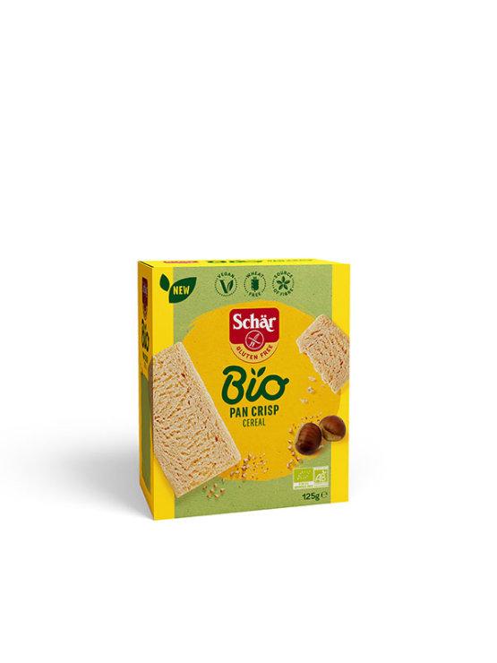 Schar gluten free multi grain crispbread in a packaging of 125g