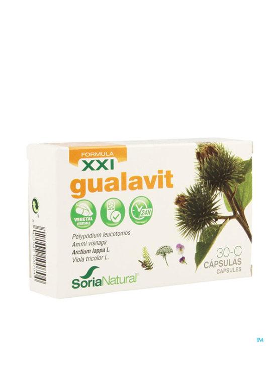 Gualavit XXL 30 Capsules in a cardboard box Soria Natural