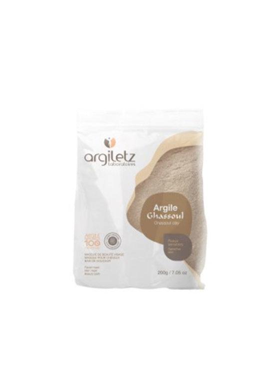 Argiletz Ghassoul clay powder in a packaging of 200g