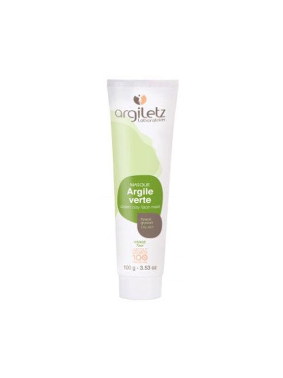 Argiletz green clay face mask for oily skin in a tube of 100g
