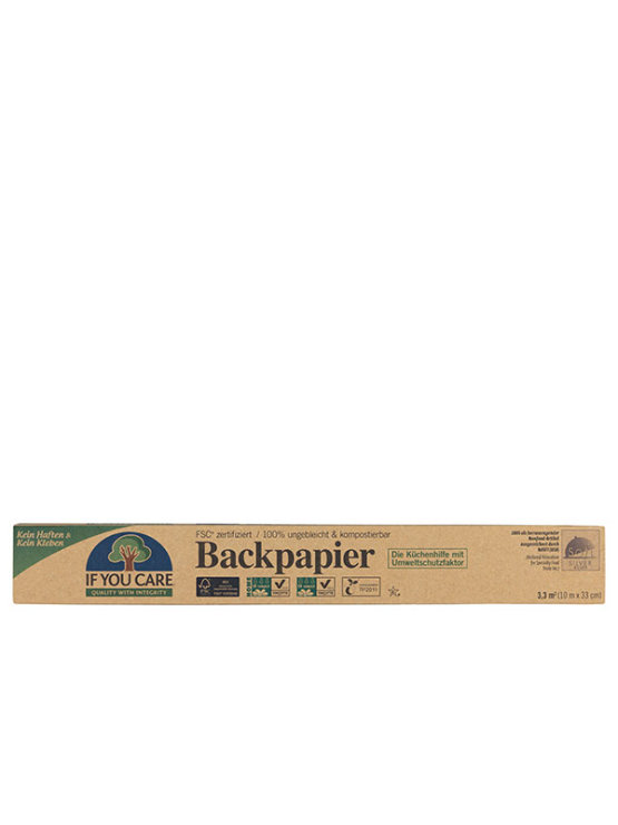 If You Care baking paper in a packaging of 10m