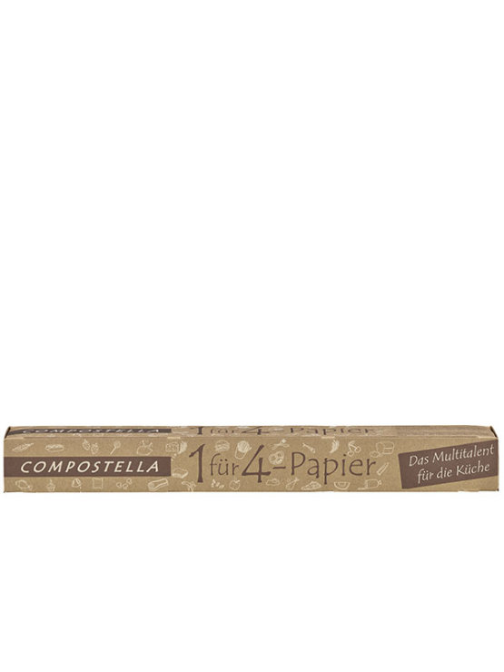 Compostella 1 for 4 paper in a packaging containing 8 m roll
