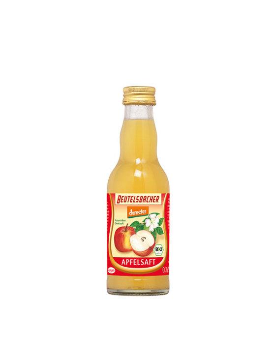 Beutelsbacher organic 100% apple juice in a glass bottle of 0,2l