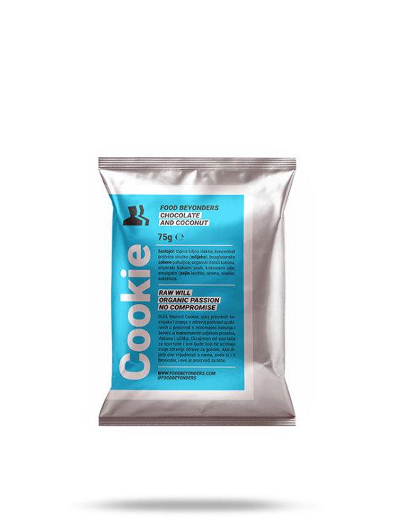 Food Beyonders protein cookie in a packaging of 60g