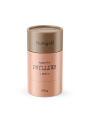 Nutrigold organic psyllium powder in cylinder shaped cardboard packaging of 250g