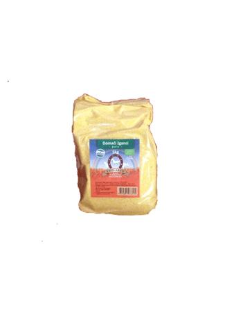 Eko Jazbec organic homemade polenta in a packaging of 1000g