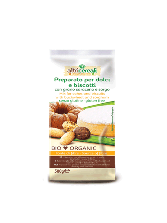 Probios cakes and biscuits mix in a packaging of 500g