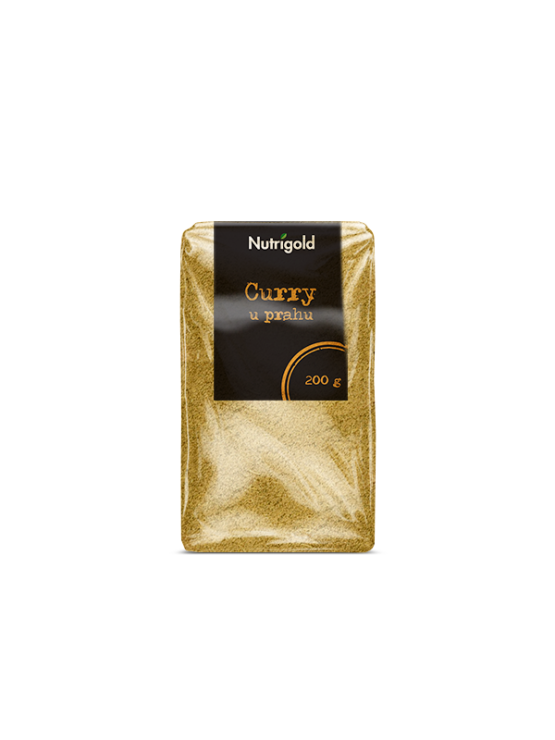 Nutrigold curry powder in a packaging of 200g