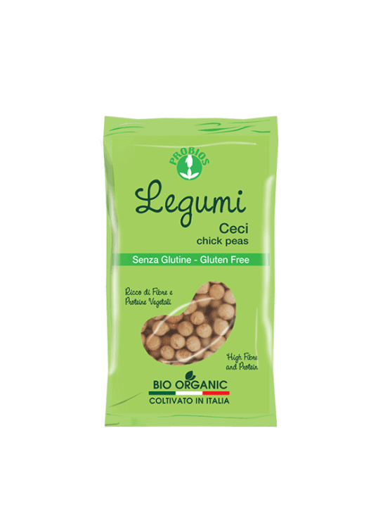 Probios organic chickpea in a 400g packaging